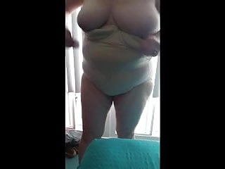 Fucked hard put away wet Quick feel of her tit hairy pussy before its put away