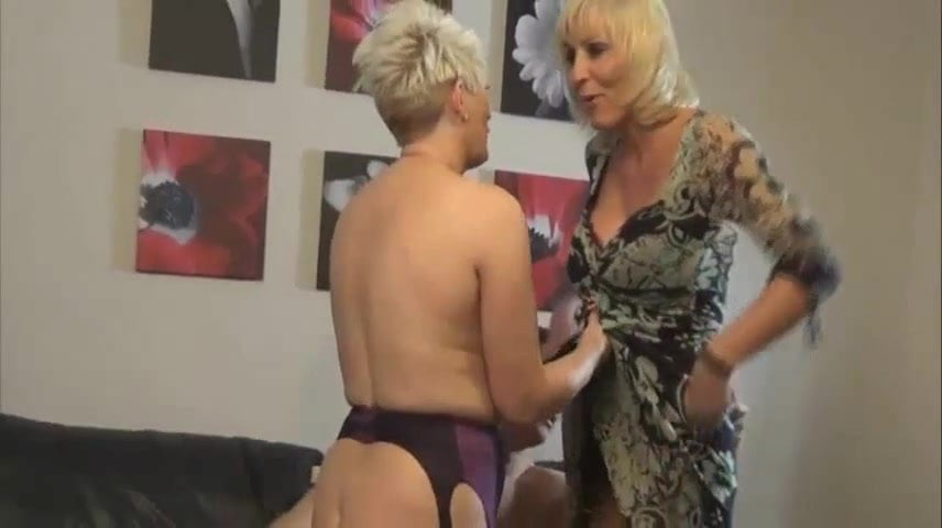 Horny British Housewifes sharing a boy