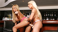 Gorgeous blondes, Candy Manson and Lexxxi Tyler are seriousl