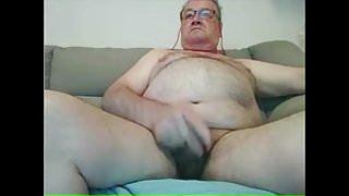 str8 chubby grandpa show asshole!