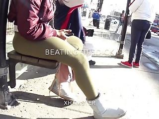Ts domination videos Ts amazing azz in leggin tight body showin off