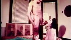 Vintage: Classic 70s Interracial group sex