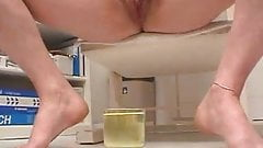Jeanette Gyno humiliation and pissing