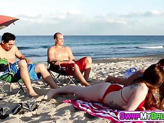 Kobi tai cock Gina valentina and kobi brian riding that big hard cocks