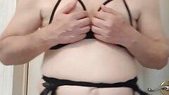 Sexy sissy peckey crossdresser