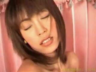 thai girl with yellow top striptease