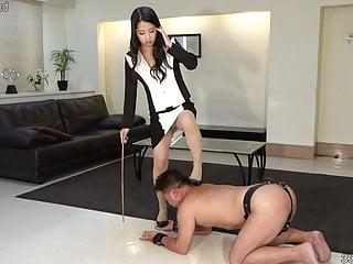 Boot fetish girl movie free Japanese cfnm satomi and boot fetish slave