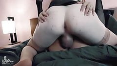 Tranny duo fucking each other hot n thick
