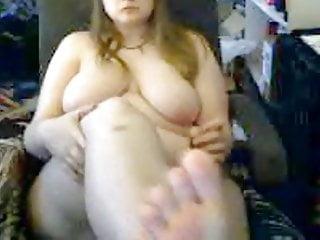 Flashing big boobs Flashing big boobs and big feet