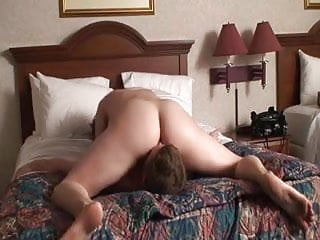 Orgasm in bed - Face riding orgasm in bed