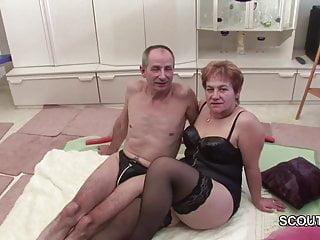 Porn grandpa fucks grandma German grandpa and grandma make porn casting first time