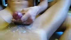 Gay continue cumming four times