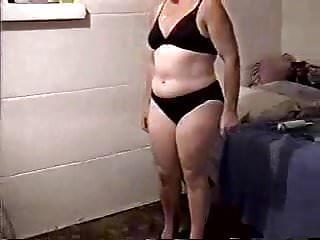 Pantie and bra porn Black panties and bra