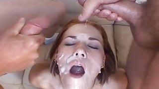 Allie Sin eats 13 loads