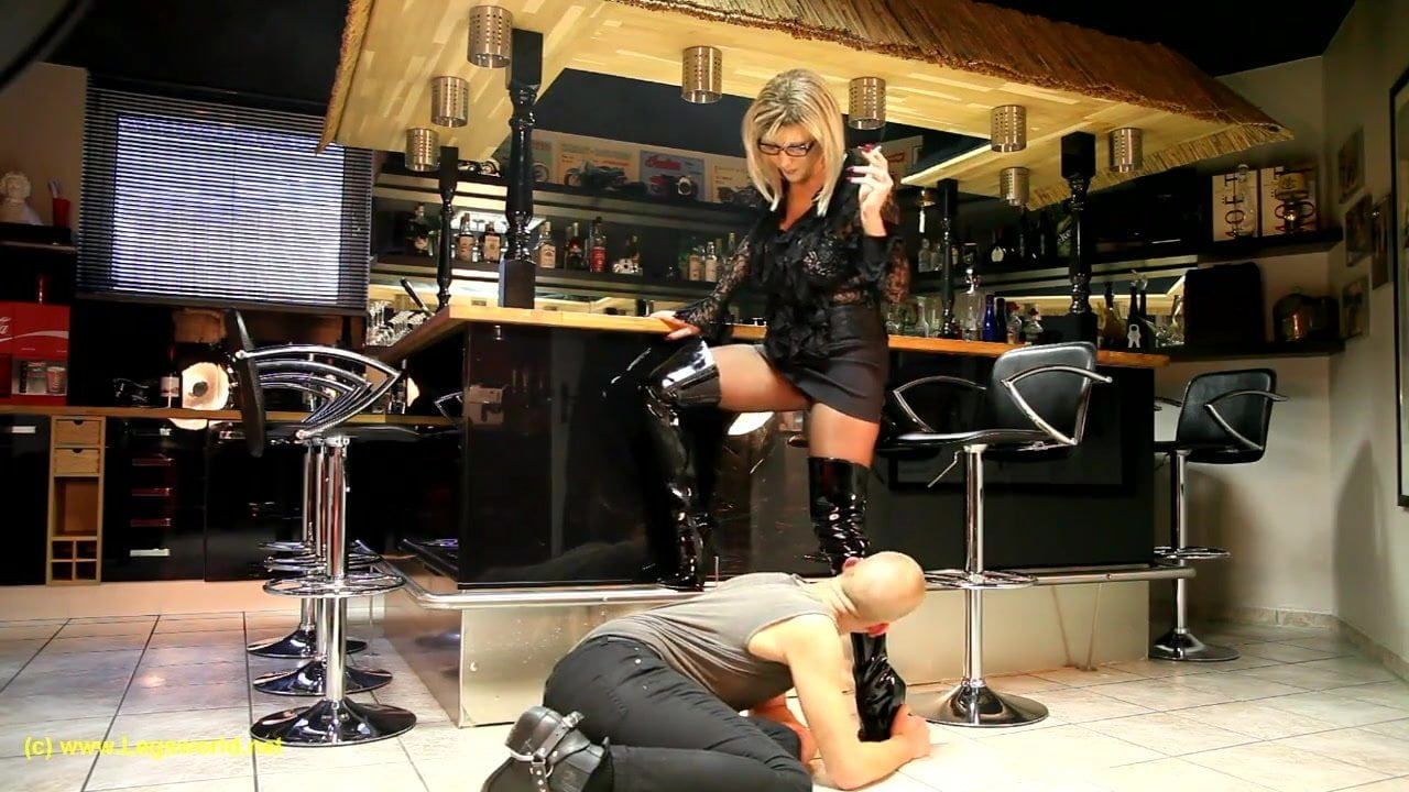 German Mistress Boots Worship