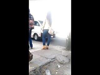 Chicas fuck Chica en la parada