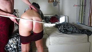 Clip 100Lar Fat Blonde Ass Spanked By The Mashine! - 2:18min