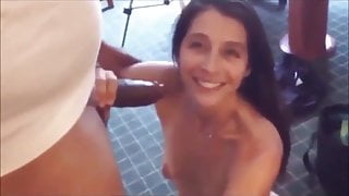 wife compares cocks, and small cuckold ejaculates prematurely