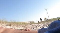 Nudist beach dick flashing 3, girls watching