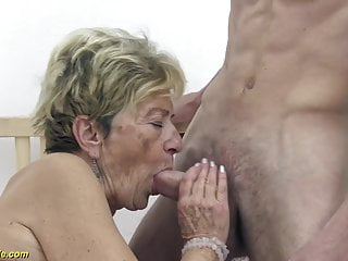 Minneapolis gay 90s - Hairy 90 years old granny banged by her toyboy
