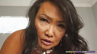 wet dreams with a horny Asian granny