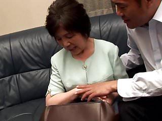 Asian granny old - Aiko hanada 72y