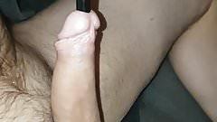 33cm 11,3mm silicone sound deeeep fucking my cock