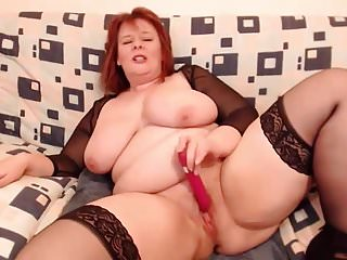 Mature natural redheads Mature bbw redhead masturbating part 2