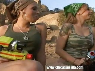 Hot ass old lesbian ladies - Three hot ladies making threesome lesbo love