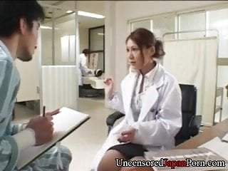 Nurse get fucked by doctor - Japanese nurse fucking doctor - uncensored japanese hardcore