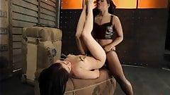She Orders Her Slavegirl to Fuck Her Hard