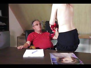 Teacher and lesbian at home Tigh college on teacher home
