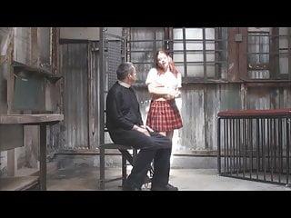 Erotics of corruption suny Schoolgirl uniform pigtails corrupts priest femdom