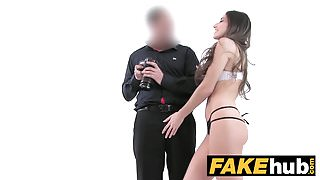 Fake Agent Amazing French beauty with perfect body