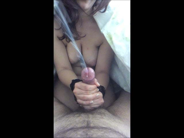 Wife Handjob Big Cumshot