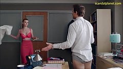 Betty Gilpin Boobs And Sex In Nurse Jackie ScandalPlanet.Com
