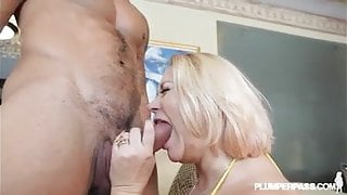 Fat StepMom Gets Fucked by Latino Stud