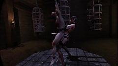 SFM VR 3D 60FPS BIG TITS MISTRESS FEMDOM SISSY DILDO MILKING