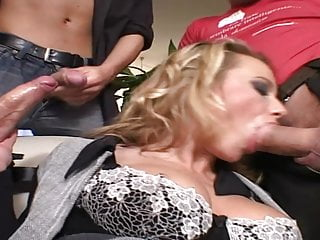 Milfs getting fucked Two italian milfs getting the fucking of their life