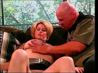 Bang bros milf sucks cock Chubby blonde with big tits sucks thick meat while getting banged in threesome