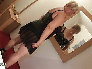 Big blonde cock milf Big blonde mother sucking cock and getting cum