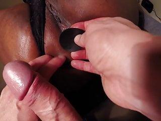 Black ass cock White cock up black ass