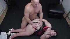 Big ass Big tits Granny fucked by big cock stud