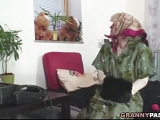 Big dick doggy style pics - Granny takes young dick doggy style