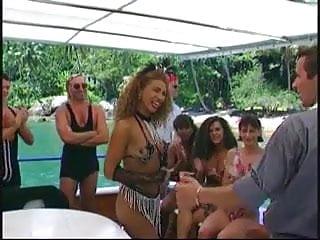 Bang boat facial Orgy on the boat