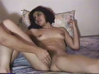 Hairy young nudes - Hairy young latina amateur fingered to orgasm