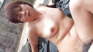 chubby mature fucking in japanese jacuzzi