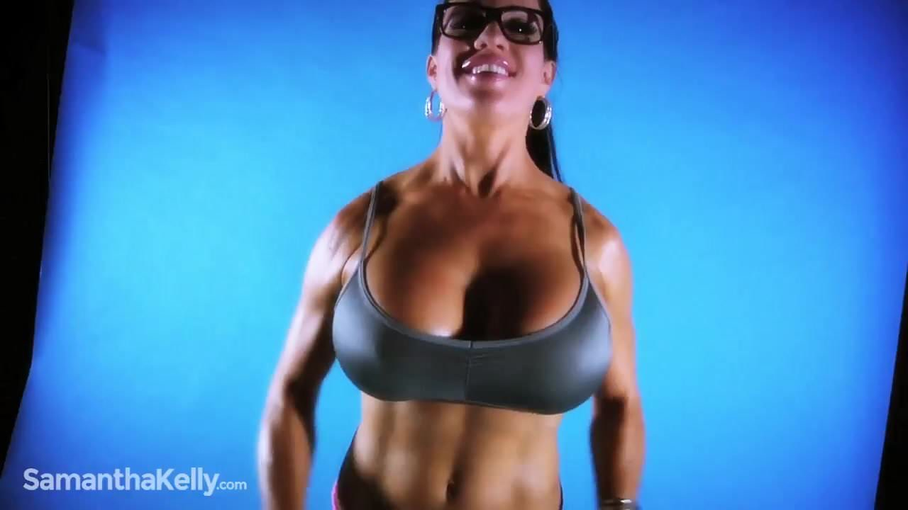 Big Tits Latex Striptease