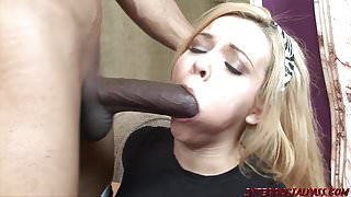Young daughter fucked by monster black cock