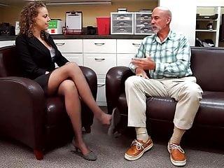 Old jergens tv leg stripper ad - Leg display on tv